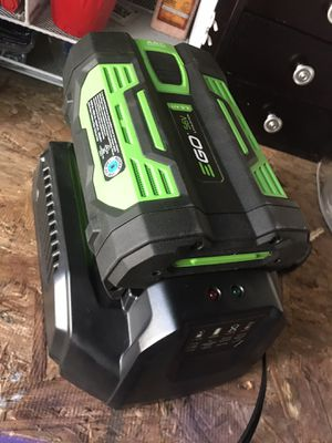 EGO 56V 2.5AH battery/charger for Sale in Grand Rapids, MI