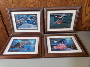 Finding Nemo Framed Lithographs - Disney Limited Edition for Sale in Tracy, CA