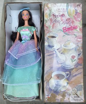 Avon Spring Tea Party Barbie for Sale in Los Alamitos, CA