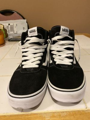 VANS Skate shoes black suede size 13 men's for Sale in New York, NY
