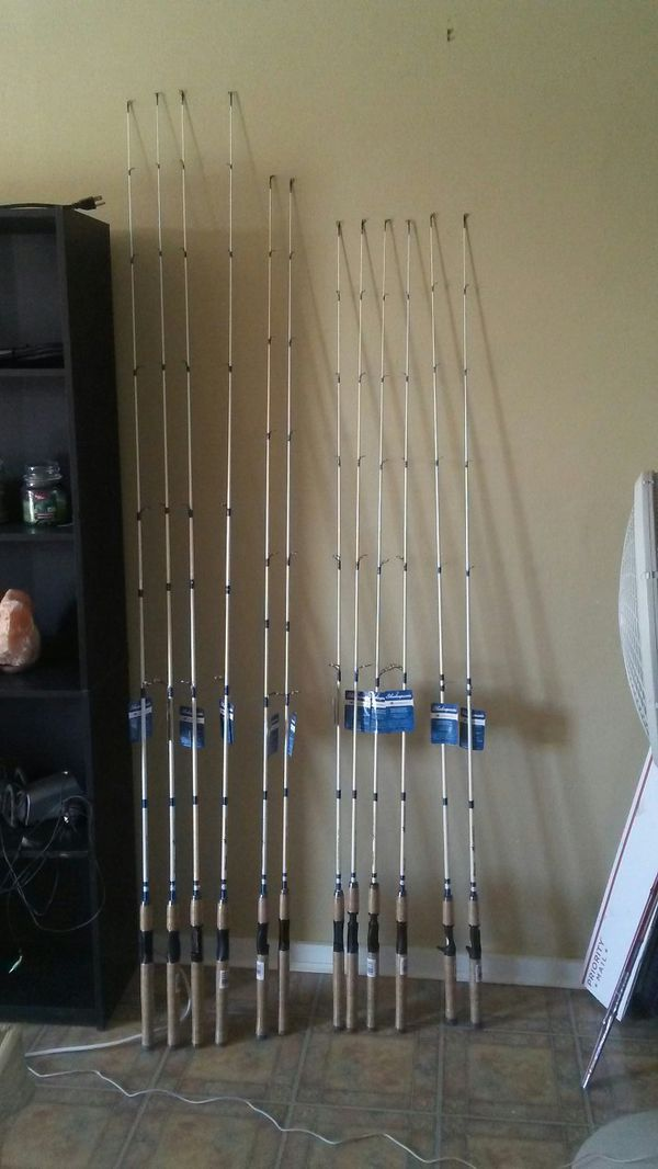 ~SHAKESPEARE Excursion Graphite Fishing Rods