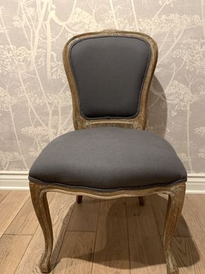 Wood and Upholstery Dining Chair - Set of 2 for Sale in Los Angeles, CA