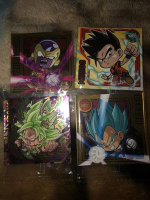 Dragon ball stickers collectible for Sale in Tacoma, WA