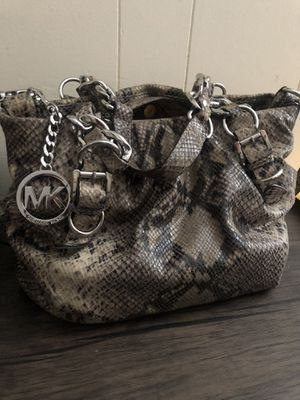 MK- Python Leather Tote Bag for Sale in Los Angeles, CA