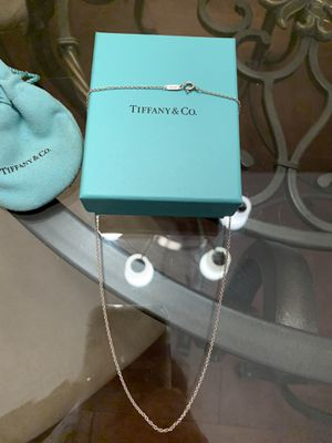 Tiffany's sterling silver necklace for Sale in LAUD BY SEA, FL