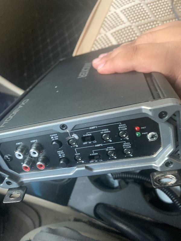Kicker amp 4 channel (CXA300.4)