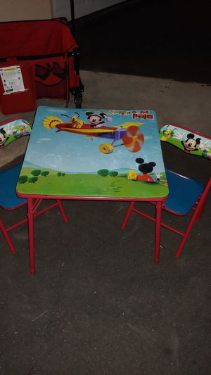 Disney kids table with chairs for Sale in San Diego, CA