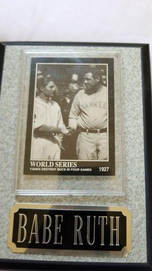 1927 babe ruth baseball card for Sale in Wichita, KS