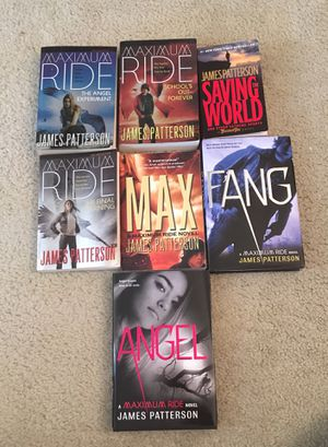 Maximum Ride Book Series for Sale in Manassas, VA