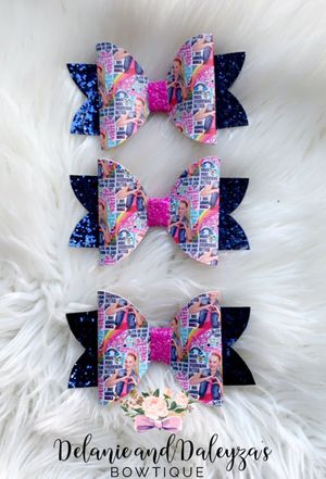 JOJO faux leather bows for Sale in Los Angeles, CA