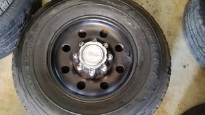 """Wheels and tires 16"""" 8 lug ford for Sale in Riverside, CA"""