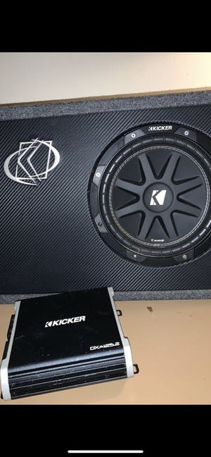 Kicker competition subwoofer for Sale in UPPER ARLNGTN, OH