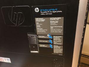 HP Pavilion of Intel premium Dual-core desktop processor E530 for Sale in Cheyenne, WY