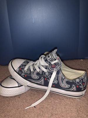 Paisley blue converse for Sale in Canal Winchester, OH