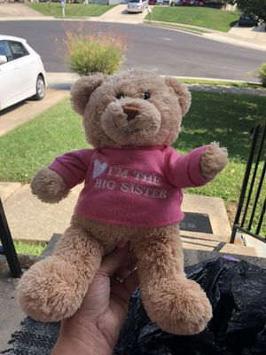 Big sister teddy bear gund for Sale in Baltimore, MD