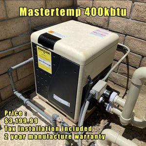 New Pentair 400k BTU Swimming Pool Heater for Sale in Perris, CA