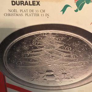 Christmas Platter for Sale in Hazlehurst, GA