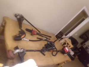 Troy-Bilt 4-stroke weed eater and attachments for Sale in Avon Park, FL