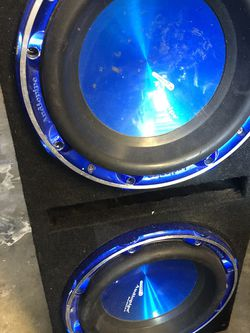 Two Audio pipe 10s and Box for Sale in Tampa,  FL