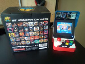 Rare JDM import! New Neo Geo SNK Mini Arcade for Sale in Raleigh, NC