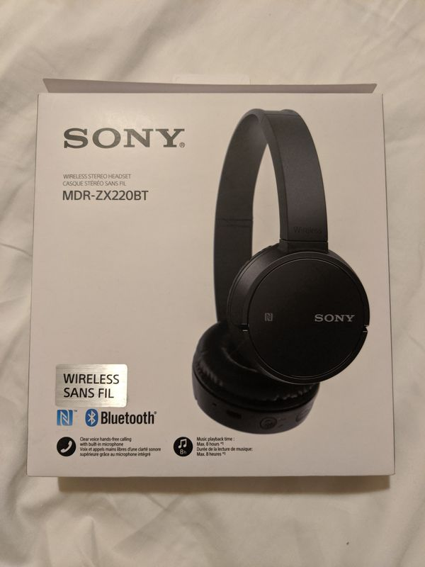 Sony MDR-ZX220BT Over the Ear Wireless Headset