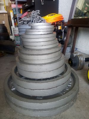 Weights plates for Sale in Lehigh Acres, FL