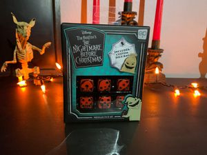 Nightmare Before Christmas Premium Dice Set for Sale in Montclair, CA