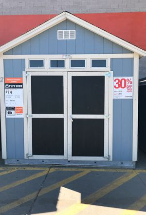 Tuff Shed tr800 10x12 former display was $4718 now $3299 for Sale in Inkster, MI