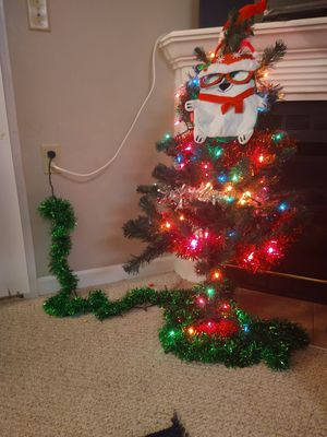 Christmas Tree with Decoratives for Sale in Williamsville, NY