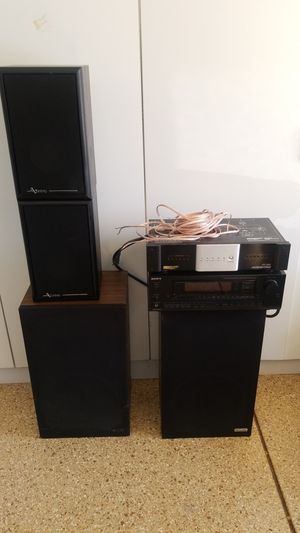 Sony Stereo Monster Power and 2 sets of Speakers for Sale in Carlsbad, CA