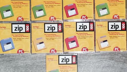 13 ZIP 100 Disks for Sale in The Bronx,  NY