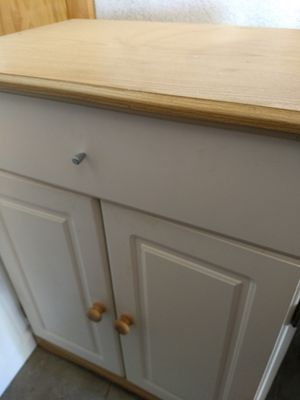 Two front door and 1 drawer Cabinet for Sale in Claremont, CA