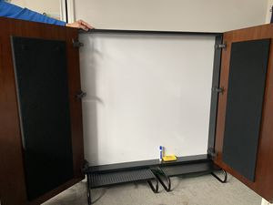 Executive Presentation White Board with doors for Sale in Fullerton, CA