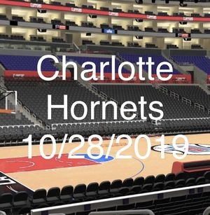 Charlotte Hornets VS LA CLIPPERS ROW 10 CLUB SEATS - 2 TICKETS for Sale in Torrance, CA