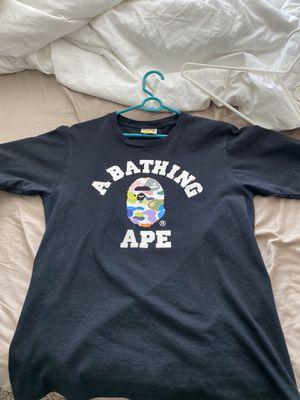 bape multicolor camo t shirt (small) for Sale in Portland, OR