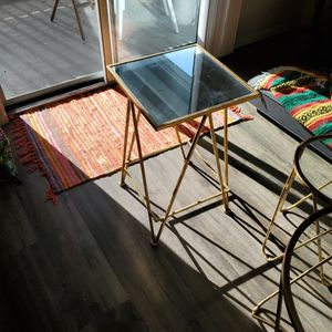 Gold Table for Sale in Kirkland, WA