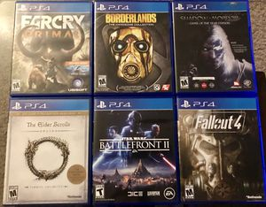 PS4 Games/Read description for details on prices for Sale in Visalia, CA