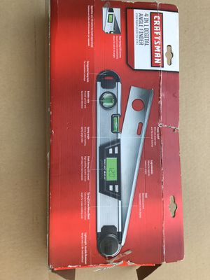 CRAFTSMAN 4-IN 1 DIGITAL ANGLE FINDER BRAND NEW ((NUEVA))$60 for Sale in Los Angeles, CA