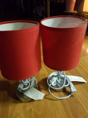 Red lamps for Sale in Everett, WA