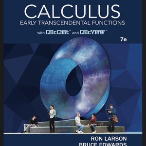 Calculus Early Transcendental Funtion .7e. Ron Laron Bruce for Sale in Newark, CA