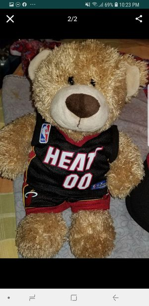Brand new never used Miami heat teddy bear for Sale in Fort Lauderdale, FL