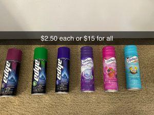 Men's and women's shave foam for Sale in Boca Raton, FL