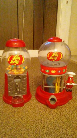 Two jelly belly , jelly bean dispensers for Sale in Boston, MA