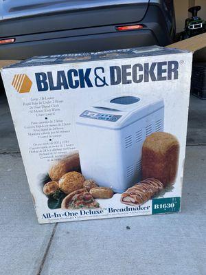Black decker deluxe bread maker. for Sale in Palmdale, CA