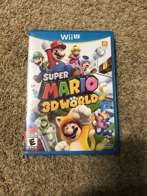 Super Mario 3D World - Wii U for Sale in Tulsa, OK