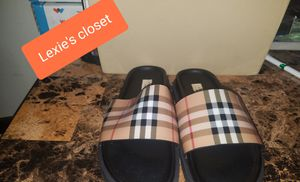 Burberry Slides size 37=7 for Sale in Bronx, NY