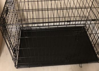 Midwest Icrate Fold And Carry Double Door Collapsible Wire Dog Crate for Sale in Lecanto,  FL