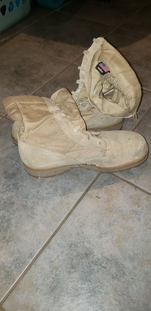 Military Desert boots, no laces for Sale in Mesa, AZ