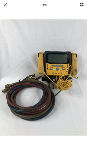 Fieldpiece SMAN460 Digital 4 Port Manifold Micron HVAC Gauge w/ Hoses for Sale in Peoria, IL