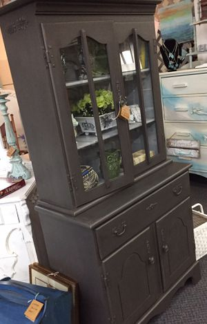 Tall Farmhouse 2 piece Cabinet for Sale in Fort Myers, FL